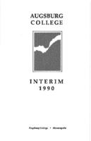 Augsburg College Interim Catalog, 1990