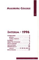 Augsburg College Interim Catalog, 1996