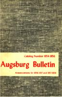 Augsburg College Catalog, 1954-1956