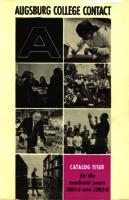 Augsburg College Catalog, 1964-1966