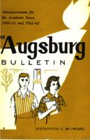 Augsburg College Catalog, 1958-1960