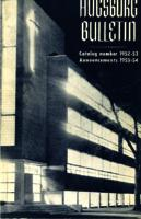 Augsburg College Catalog, 1952-1953
