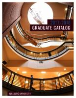 Augsburg University Graduate Catalog, 2017-2018