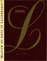 Master of Arts in Leadership (MAL) Catalog, 1993-1995