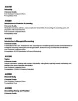 Augsburg College Course Descriptions, 2013-2014