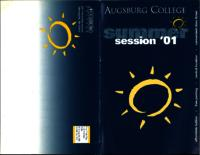 Augsburg College Summer Catalog, 2001