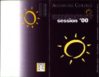 Augsburg College Summer Catalog, 2000