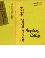 Augsburg College Summer Catalog, 1969