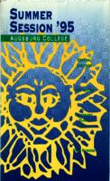 Augsburg College Summer Catalog, 1995
