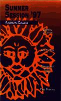 Augsburg College Summer Catalog, 1997