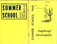 Augsburg College Summer Catalog, 1968