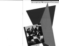 Augsburg Weekend College Catalog Supplement, 1991-1992