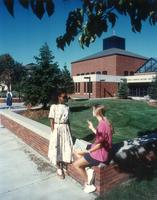 Foss Lobeck Miles Center, west facade, facing northeast, circa 1993.