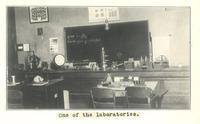 Old Main (1872-1948), laboratory.