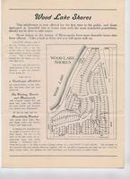 Advertisement for Woodlake Shores, circa 1925