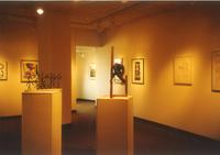 Lindell Library, Gage Family Art Gallery, circa 1997.