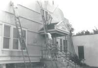 Little Theater, renovation, north facade, facing southwest, circa 1950.
