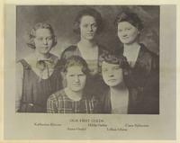 First Coeds at Augsburg, circa 1922.