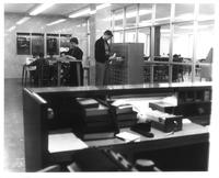 Sverdrup Library, card catalog, circa 1960.