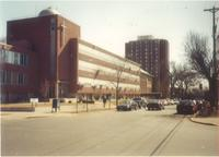Campus Buildings along 21st Avenue South, facing southeast, circa 1995.