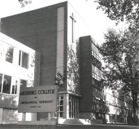 Science Hall, northwest corner, facing southeast, circa 1957.