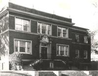 Sivertsen Hall, north facade, facing southwest, circa 1940.