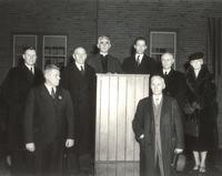 Sverdrup Oftedal Memorial Hall, dedication ceremony, 1939.