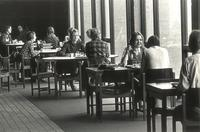 Christensen Center, cafeteria, circa 1975.