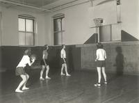 Old Main (1902-), gymnasium, circa 1945.