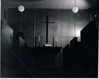 Science Hall, Prayer Chapel, circa 1950.
