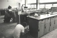 Science Hall, renovation, circa 1984.