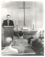 Prayer Chapel, in Sverdrup Hall and Science Hall, circa 1960.