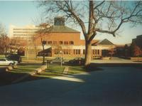 Foss Lobeck Miles Center, west facade, facing east, circa 1995.