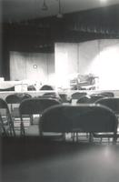Little Theater, interior, circa 1960.