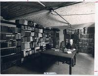 Archives in Old Main (1902-), circa 1930.