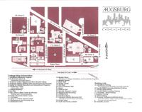 Map of Augsburg Campus.