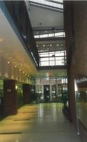 Lindell Library, interior, facing east, circa 1997.