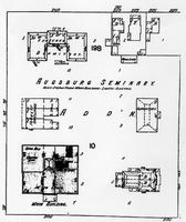 Sanborn map for the Augsburg Seminary