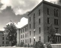 Sverdrup Oftedal Memorial Hall, east wing, facing northeast, circa 1938.