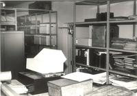 Sverdrup Library, archives, circa 1955.