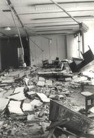 Science Hall, during renovation, circa 1984.