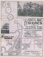 Advertisement for Wood Lake Shores and Augsburg Park