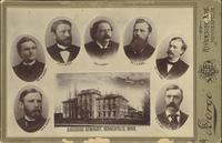 Faculty at Augsburg Seminary, circa 1880.