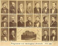 Professors and theological students 1878-1880
