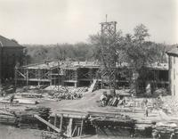 Science Hall, construction circa, 1949.