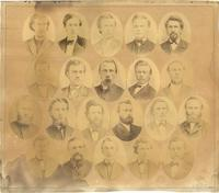 Augsburg Seminary Students and Faculty, 1870