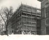 Science Hall, construction, 1949.