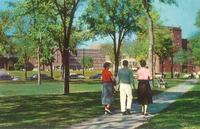 Murphy Square, facing northwest, circa 1955.