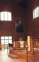 Foss Lobeck Miles Center, Hoversten Chapel, facing northeast, circa 1988.