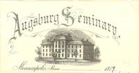 Old Main (1872-1948), on letterhead, 1879.